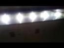 Светодиодное освещение в вагоне электрички
