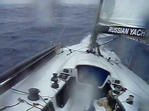 Жесть в Атлантике extreme sailing regatta in the Atlantic