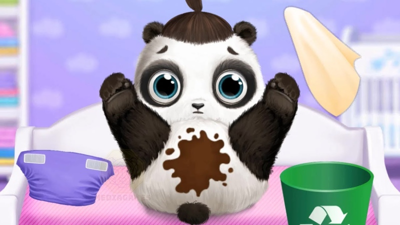 Panda Lu Baby Bear Care 2 Games for Kids and Toddlers - Fun Animals Care Learning Games