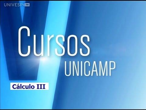 Cursos Unicamp: Cálculo III - Introdução - Parte 1