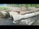 Импровизированный аквапарк в Чите