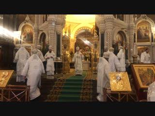Проповедь после Божественной Литургии в навечерие Рождества Христова (Рождественский сочельник)