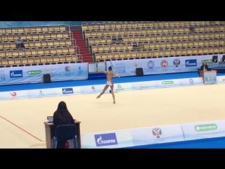 Дарья Трубникова - обруч (многоборье) // Международный турнир 2018, Казань