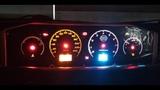 Nissan Primera P12. Пересвет Панель приборов часть 2.