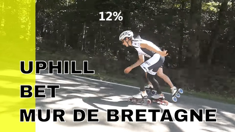 Mur de Bretagne on inline skate (pascal briand vlog 166)