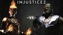 Injustice 2 - Файршторм против Дарксайда - Intros Clashes (rus)