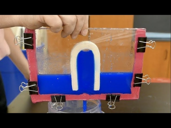Water Demonstrations Part One --. Siphons Homemade Science with Bruce Yeany