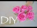 Роза из гофрированной бумаги просто и быстро DIY Tsvoric