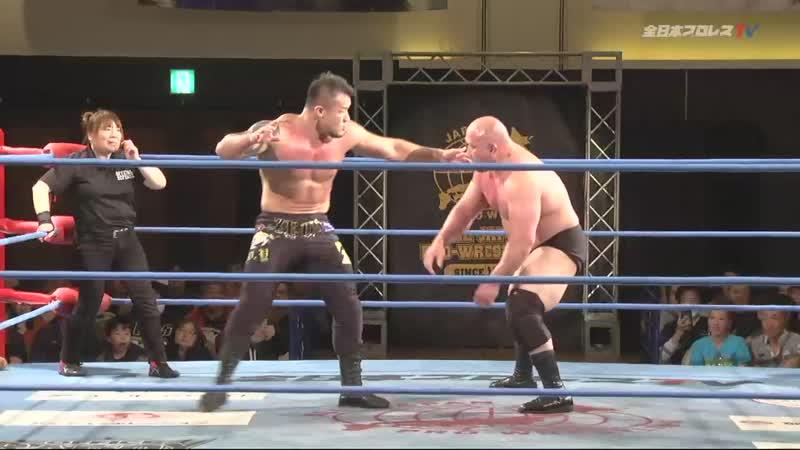 Yuji Okabayashi vs. Zeus (AJPW Champion Carnival 2019 - Day 13)