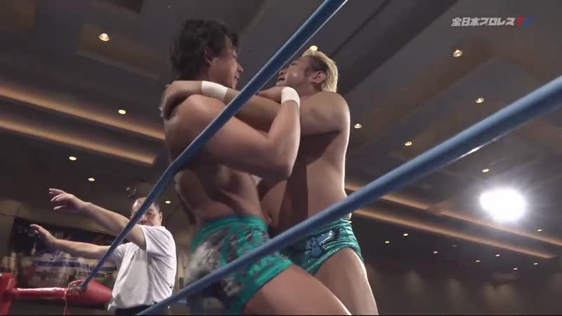 Jake Lee vs. Suwama (AJPW Champion Carnival 2019 - Day 13)