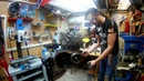Капитальный ремонт ДВС Honda CB400 Разборка и диагностика Сцепления ч3