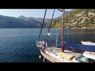 Фотограф в Черногории Хорватии Будва Котор (Макс Мота) Бекстейдж семейной сьёмки на яхте
