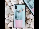 Глянцевый чехол for 6 7 X iPhone
