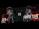 JER (TW) vs FRIED TOFU (JPN)  Asia Beatbox Championship 2018 Solo Elimination