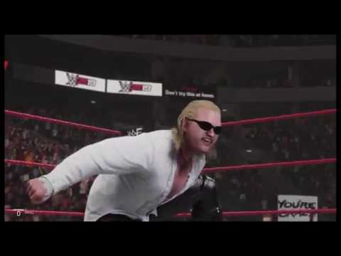 WWE 2K19 Gangrel vs The Rock Heat '99