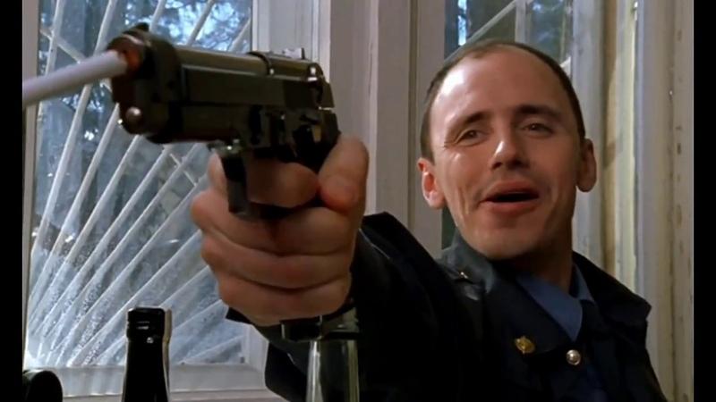 Отрывок из сериала Бригада Никогда не наводи оружие на человека 13 Серия HD 1080