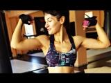 Моя тренировка сегодня просто огонь 🔥 Два часа работы с железом 💪💣 Хороший тренер @michail_142 и упражнения интересные! 👍🤘