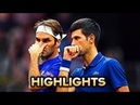 Federer/Djokovic vs Sock/Anderson ● Laver Cup 2018 (HD) Highlights