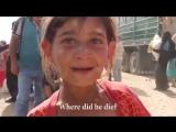 Девочка из лагеря беженцев в Фаллудже