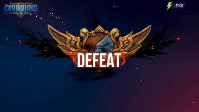 Defeat VFX - Dungeon Hunter Champions