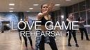 LoveGame rehearsal 1