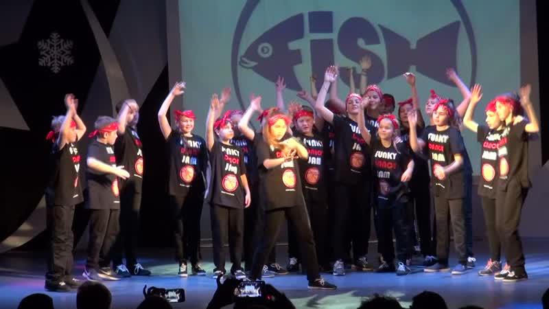 FUNKY-FISH DANCE | Be Funky | Дети 10-13 лет