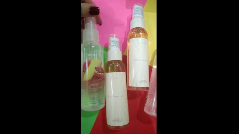 парфюмированные спреи