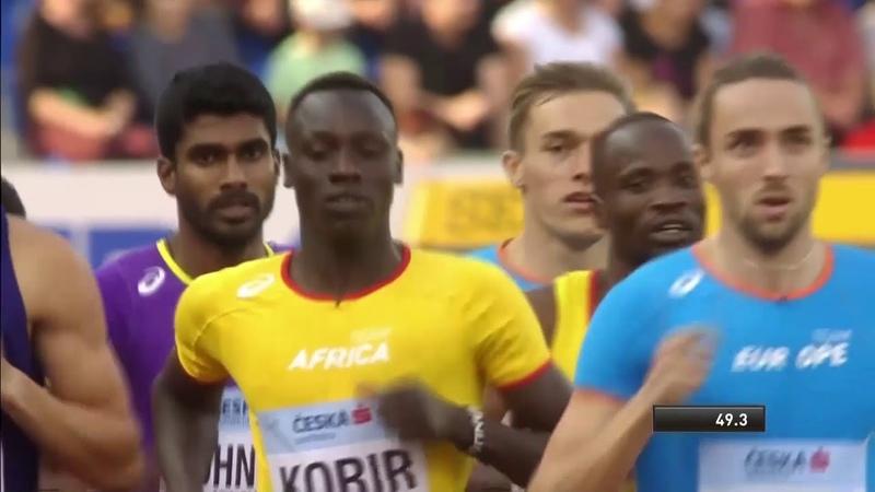Men's 800m Athletics Continental Cup Day 1 Ostrava 2018