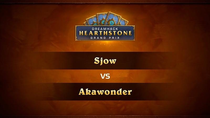 Sjow vs Akawonder, DreamHack Summer 2018