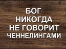 БОГ НЕ ГОВОРИТ ЧЕННЕЛИНГАМИ. КАК БОГ ГОВОРИТ С ЧЕЛОВЕКОМ? (Александра Барвицкая-Женьшеневая Женщина)