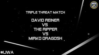 David Reiner vs The Ripper vs Mirko Dragosh @ FanExpo2018, 19-08-2018