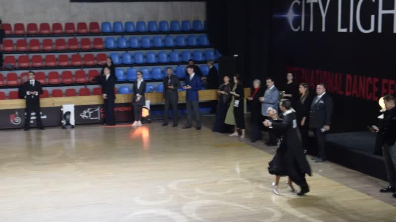 Огни Столицы 20 21 10 2018г Молодежь 1 Открытый класс Стандарт Лена Никита Квикстеп