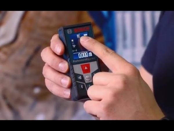 Лазерный дальномер Bosch - обзор, цена, купить - YouTube