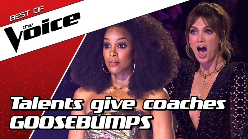 TOP 10   HIGH NOTES that gave The Voice coaches GOOSEBUMPS
