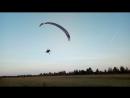 Вечерние полеты с космопорта Луговское
