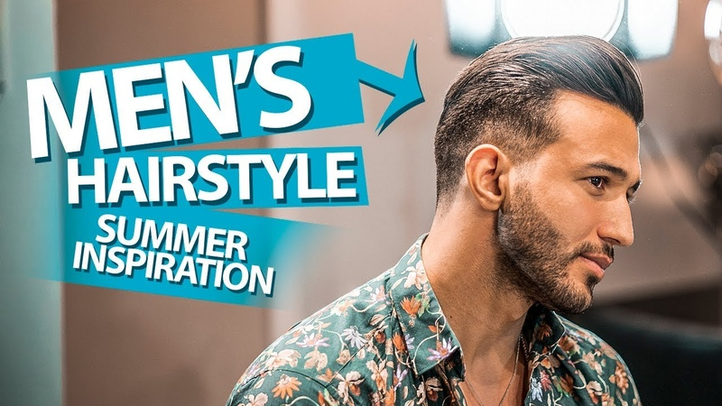 Summer hair inspiration ★ Mid length slick back haircut ★ Mens Hair Inspiration ★NEW 2018