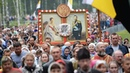 Крестный ход под Екатеринбургом 17.07.2018 в память о гибели царской семьи