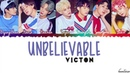 VICTON (빅톤) - Unbelievable (말도 안돼) Lyrics [Color Coded_Han_Rom_Eng]
