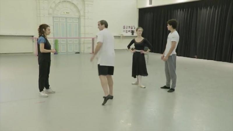 08.10.2018 English National Ballet, Irek Mukhamedov and Viviana Durante are coaching Isaac Hernández and Jurgita Dronina, MANON