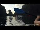 An brothers tv - Bơi thuyền Kayak trên vịnh Hạ Long - rowing kayak on Ha Long bay