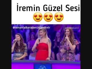Sen Anlat Karadeniz / Выступление Ирем на другой передаче.