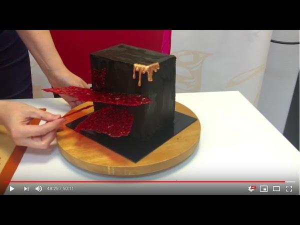 Торт авангардный Шококуб от Одри - рецепт внизу под видео - НАЖМИ на стрелочку вниз