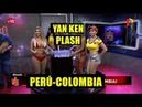 Perú-Colombia-Aguita pa ti:Mirella y Yuri se mojan por su selección-Piegrandevideoshd