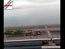 ВСети опубликовали видео переброски военной техники поКрымскому мосту !
