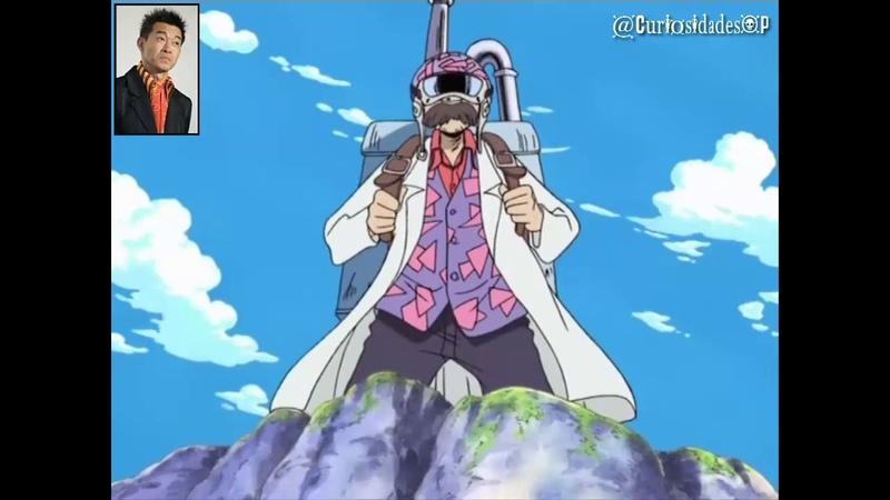 One Piece - Seiyuu de Brook doblando a otros personajes [Parte1]