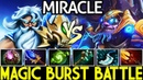 Miracle- [Tinker] Magic Burst Damage Battle Pro Gameplay 7.20 Dota 2