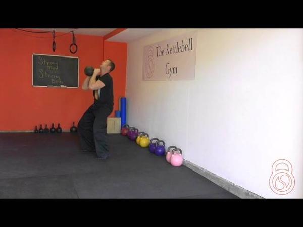 Weekend Warrior 6: Squat, curl, thruster kettlebell challenge