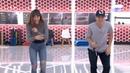 Aitana bailando con Raoul el tema de J Balvin - Mi gente