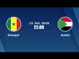 Прямая трансляция матча Сенегал - Судан