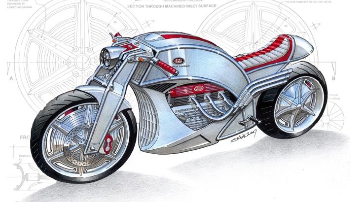 Кафе рейсер Levis Motorcycles V6